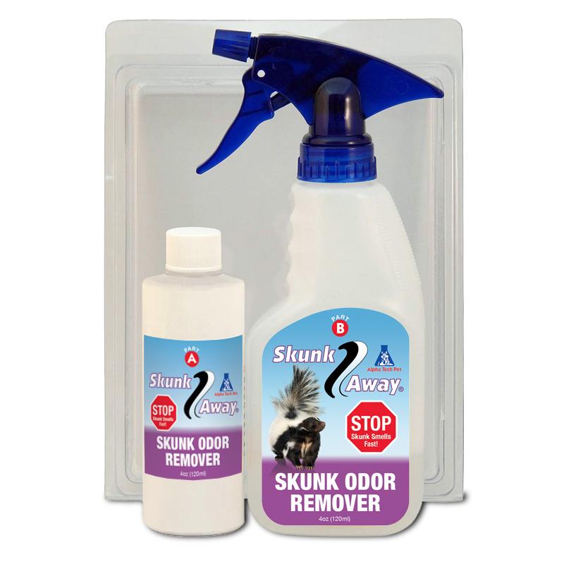 skunkaway skunk odor removal spray. Black Bedroom Furniture Sets. Home Design Ideas