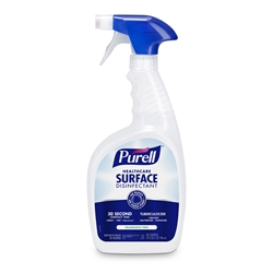 Purell Healthcare Surface Disinfectant - 32 ounce spray bottles, 3/case Purell Healthcare,Purell,Purell Surface Disinfectant,Purell Healthcare Surface Disinfectant,Surface Disinfectant,Animal Care Disinfectant,Veterinary Disinfectant