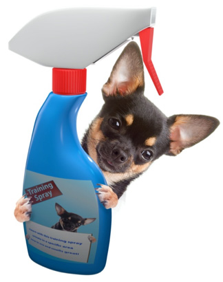 dog spray bottle