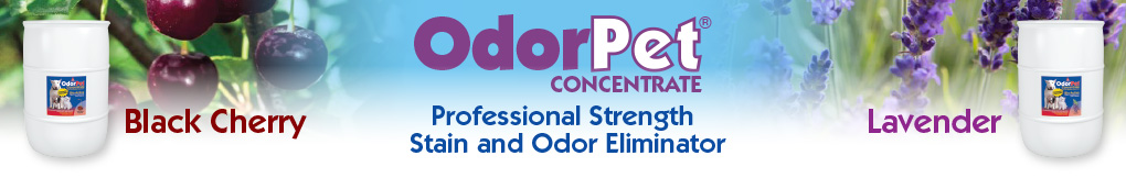 OdorPet Concentrate banner