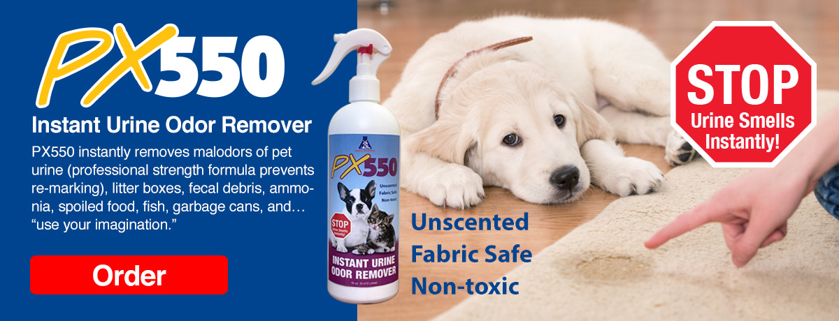 PX550 instant odor remover