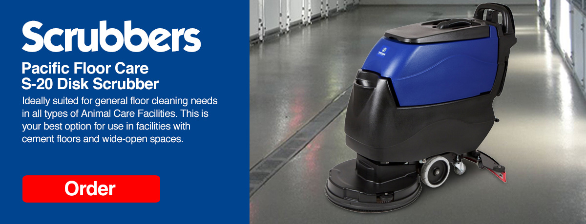 Pacific Floor Care S-20 Disk Scrubber
