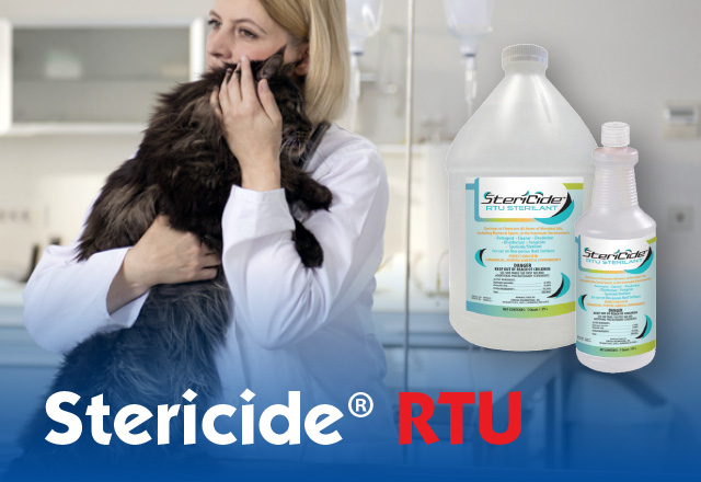 stericide cleaner disinfectant sterilizer