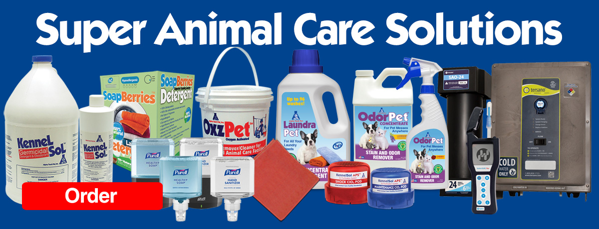 Super Animal Care Cleaning Solutions