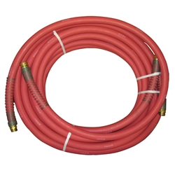 "Alpha HydroClean High Pressure Rubber Hose - Red 50' x 3/4"" HydroClean,High Pressure Rubber Hose - Red 50' x 3/4"""
