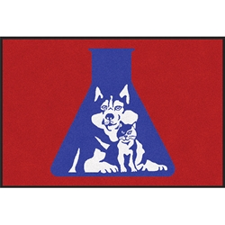 Alpha Tech Logo - Classic Impression Mat (4' x 6') Alpha Tech Pet Logo Floor Mat