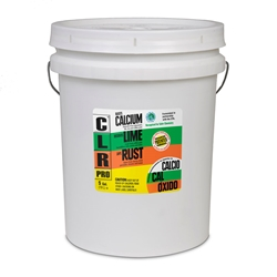 CLR PRO (Calcium, Lime & Rust Remover) - 5 gallon pail  CLR, CLP Pro, Calcium Lime & Rust Remover, Lactic Acid Cleaner