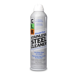 CLR Stainless Steel Cleaner - 12 ounce aerosol spray, 6/case CLR Stainless Steel Cleaner,Stainless Steel Cleaner