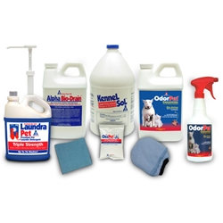 Combo Pack Alpha Tech Pet combination sample pack,Kennel Cleaning Combo Pack