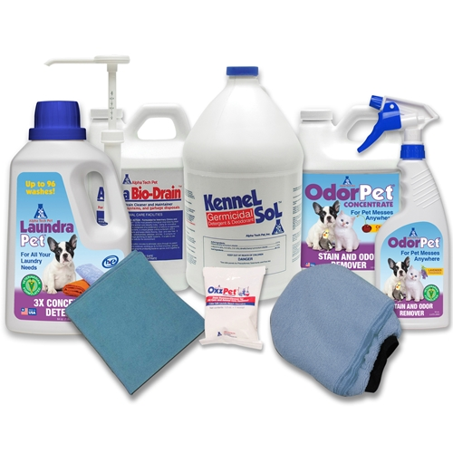 Sample pack of Alpha Tech Pet Products
