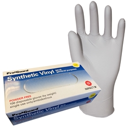 Disposable Synthetic Powder Free Gloves, 100/box, 10 boxes/case disposable gloves,powder-free gloves,vinyl gloves,latex free gloves