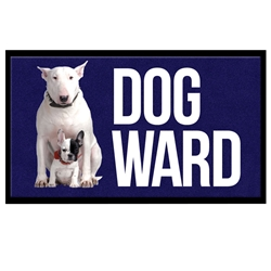 Dog Ward - Classic Impression HD Mat Dog Ward Message Mat