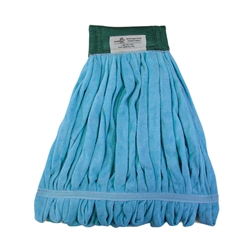 Blue EchoFiber Microfiber Loop Mop - Medium