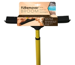 FURemover Broom & Squeegee FURemover Broom,Rubber Broom,Rubber Broom Squeegee,FurrBROOM,Pet Hair Broom
