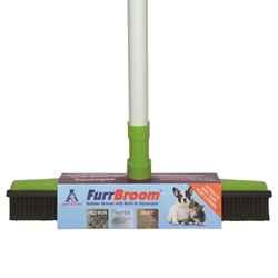 FurrBROOM Rubber Broom & Squeegee