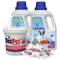 Laundry Promotional Pack LaundraPet,OxzPet,Pet Laundry Detergent,Promotional Pack