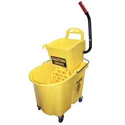 Mop Bucket (sidepress w/dirty water bucket & sediment tray) Mop Bucket