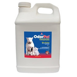 OdorPet Concentrate 2 1/2 gallon bottle OdorPet,Odor Pet, Pet odor eliminator,pet mess clean-up,pet odor control,bioactive odor counteractant,cleaner
