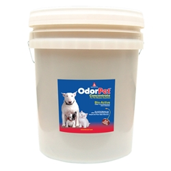 OdorPet Concentrate 5 Gallon Pail OdorPet,Odor Pet, Pet odor eliminator,pet mess clean-up,pet odor control,bioactive odor counteractant,cleaner