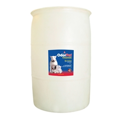 OdorPet Concentrate 55 Gallon Drum OdorPet,Odor Pet, Pet odor eliminator,pet mess clean-up,pet odor control,bioactive odor counteractant,cleaner