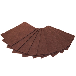 Orbital Pads, 20x14 Maroon Surface Preparation (stripping), case of 10 Orbital Pads,Pacific Floorcare Orbital Stripping Pads,Maroon Stripping Pads