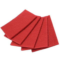 Orbital Pads, 20x14 Red Buffing (general cleaning), case of 5 Orbital Pads,Red Cleaning Orbital Scrubber Pads,Pacific Floorcare Red Cleaning Pads