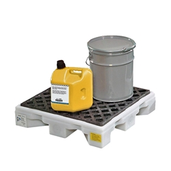 PIG Poly Drip Deck - Single Drum Capacity Drum Drip Containment Pallet,Drum Pallet