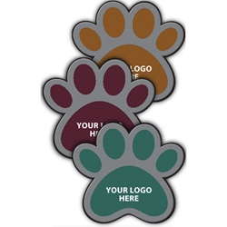 Paw Logo Mat - Classic Impression HD (3'x4') Customized Paw Print Floor Mat,Animal Care Facility Paw Print Floor Mat,Veterinary Paw Print Floor Mat,Paw Print Logo Mat