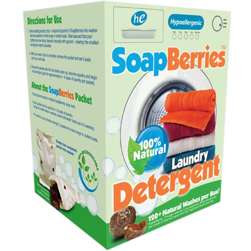 SoapBerries natural laundry detergent