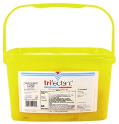 Trifectant Powder 10# pails 4/case trifectant,potassium peroxymonosulfate,peroxygen compounds,parvo,canine parvo virus,broad spectrum disinfectant,peroxygen compounds,sporocidal,trifectant parvo use,trifectant tablets,trifectant powder,what is trifectant