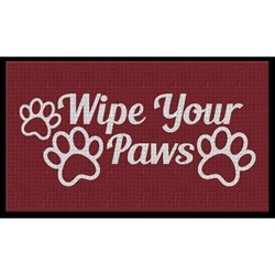 Wipe Your Paws - Waterhog Inlay Floor Mat Wipe Your Paws Floor Mat