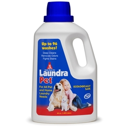 LaundraPet 64 oz. 4/case LaundraPet,Pet Laundry Detergent,laundry detergent for pets,animal care facility laundry detergent,veterinary laundry detergent,pet laundry detergent